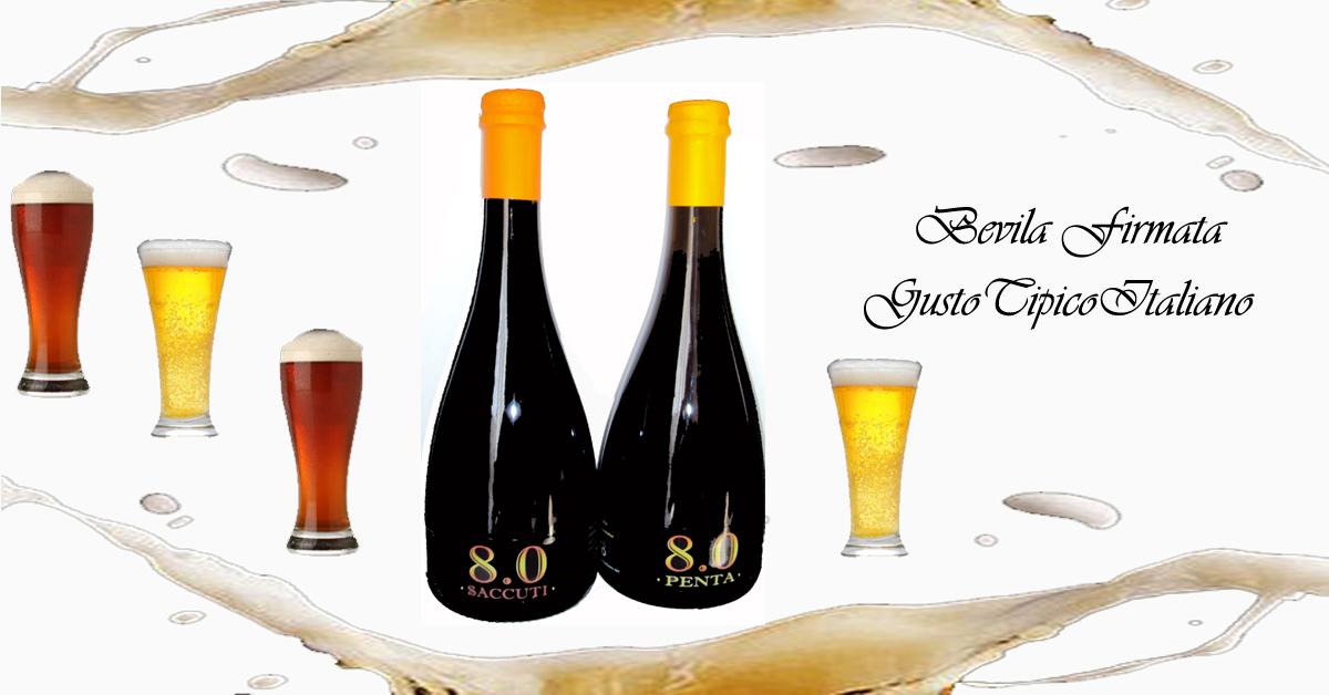 Birra artigianale cruda rifermentata in bottiglia